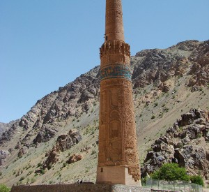 "minaret Dżam z XII w.<br><span class=""cc-link""><a href=""http://www.flickr.com/photos/afgmatters/4324695171/"" target=""_blank"">Autor:AfghanistanMatters</a><a href='http://creativecommons.org/licences/by/3.0'> <img class=""cc-icon"" src=""mods/_img/cc_by-small.png""></a></a></span>"