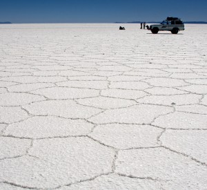 "Salar de Uyuni<br><span class=""cc-link""><a href=""http://www.flickr.com/photos/pedrosz/2086104060/"" target=""_blank"">Autor:Pedro Szekely</a><a href='http://creativecommons.org/licences/by/3.0'> <img class=""cc-icon"" src=""mods/_img/cc_by-small.png""></a></a></span>"