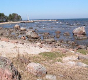 nad Morzem Bałtyckim - na wschód od Tallina