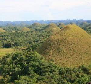 Chocolate Hills - wyspa Bohol