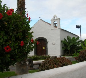 "Kościółek Ermita de San Telmo w Puerto de la Cruz<br><span class=""cc-link"">Autor: Jan Ignacy Czempiński </span>"