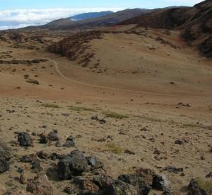 """Marsjańskie krajobrazy parku narodowego Teide<br><span class=""""cc-link"""">Autor: Jan Ignacy Czempiński</span>"""