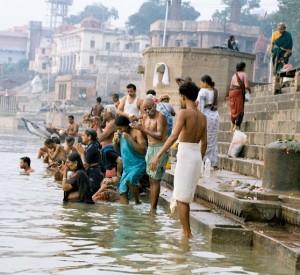 Ghaty w Varanasi
