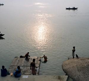 rzeka Ganges - Varanasi