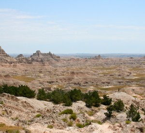 "Park Narodowy Badlands<br><span class=""cc-link""><a href=""http://www.flickr.com/photos/cagrimmett/1088484855/"" target=""_blank"">Autor:Chuck Grimett</a><a href='http://creativecommons.org/licences/by-sa/3.0'>&nbsp;<img class=""cc-icon"" src=""mods/_img/cc_by_sa-small.png""></a></a></span>"