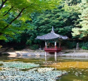 "Zespół pałacowy Changdeokgung<br><span class=""cc-link""><a href=""http://www.flickr.com/photos/ncburton/3594281356/"" target=""_blank"">Autor:ncburton</a><a href='http://creativecommons.org/licences/by-nd/3.0'> <img class=""cc-icon"" src=""mods/_img/cc_by_nd-small.png""></a></a></span>"