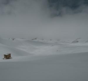 """Pokryte dwumetrową warstwą śniegu góry Liban (przełom marca i kwietnia). <br><span class=""""cc-link"""">Autor: Jan Ignacy Czempiński</span>"""