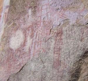 "Skalne rysunki w Chongoni<br><span class=""cc-link"">Autor: Malawi</span>"
