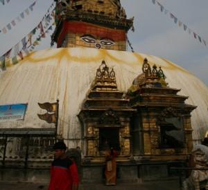 Swayambhunath stupa to najbardziej znaczące miejsce sakralne dla wyznania buddystów