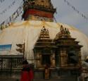 <span class='dscr'>Swayambhunath stupa to najbardziej znaczące miejsce sakralne dla wyznania buddystów</span>