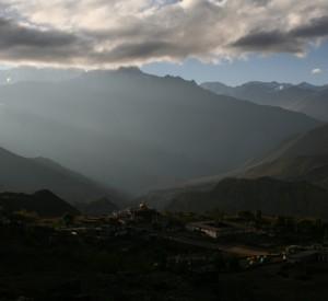miejscowość Muktinath na drodze wokół Annapurny