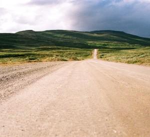droga przez Góry Skandynawskie