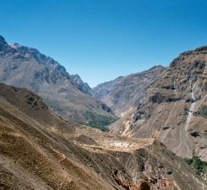 Kanion Colca - drugi co do głębokości na świecie