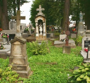 "Cmentarz w pobliżu kościoła św. Leonarda w Lipnicy Murowanej<br><span class=""cc-link""><a href=""http://commons.wikimedia.org/wiki/File:Kosciol_sw._Leonarda_w_Lipnicy_Murowanej_(cmentarz)_13.08.08_p2.jpg"" target=""_blank"">Autor:Przykuta</a><a href='http://creativecommons.org/licences/by-sa/3.0'>&nbsp;<img class=""cc-icon"" src=""mods/_img/cc_by_sa-small.png""></a></a></span>"