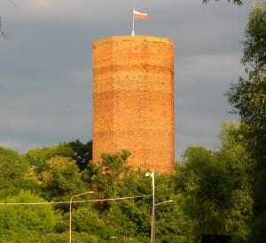 """Mysia Wieża w Kruszwicy<br><span class=""""cc-link"""">Autor: Pit1233</span>"""
