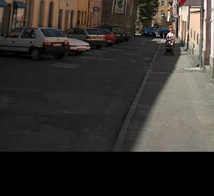 """Krzywa wieża w Ząbkowicach Śląskich<br><span class=""""cc-link""""><a href=""""http://commons.wikimedia.org/wiki/File:Poland_Zabkowice_Slaskie_-_Krzywa_Wieza.jpg"""" target=""""_blank"""">Autor:Merlin</a><a href='http://creativecommons.org/licences/by-sa/3.0'><img class=""""cc-icon"""" src=""""mods/_img/cc_by_sa-small.png""""></a></a></span>"""