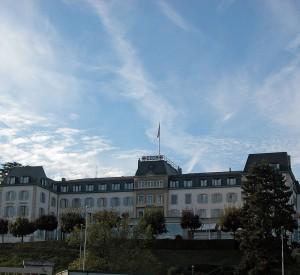"""Siedziba Czerwonego Krzyża w Genewie<br><span class=""""cc-link"""">Autor: Alexander Umbricht</span>"""