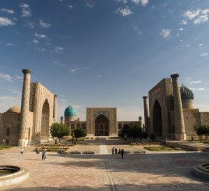 "Samarkanda<br><span class=""cc-link""><a href=""http://www.flickr.com/photos/gusjer/3087484514/"" target=""_blank"">Autor:Gusjer</a><a href='http://creativecommons.org/licences/by/3.0'> <img class=""cc-icon"" src=""mods/_img/cc_by-small.png""></a></a></span>"